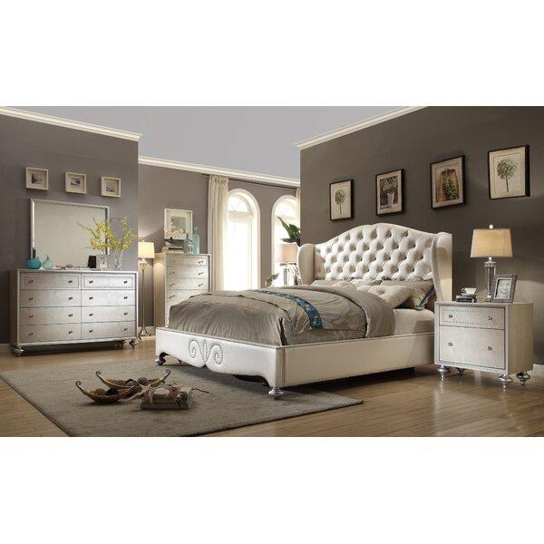 queen 4 piece bedroom set   wayfair
