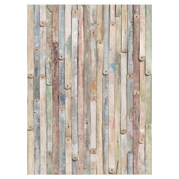 Etienne Vintage Wood Wall Mural Amp Reviews Allmodern