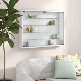 Farnsworth L Wall Mounted Display Cabinet