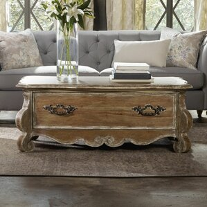 living room table with storage. Chatelet Coffee Table with Storage Old World  Wayfair