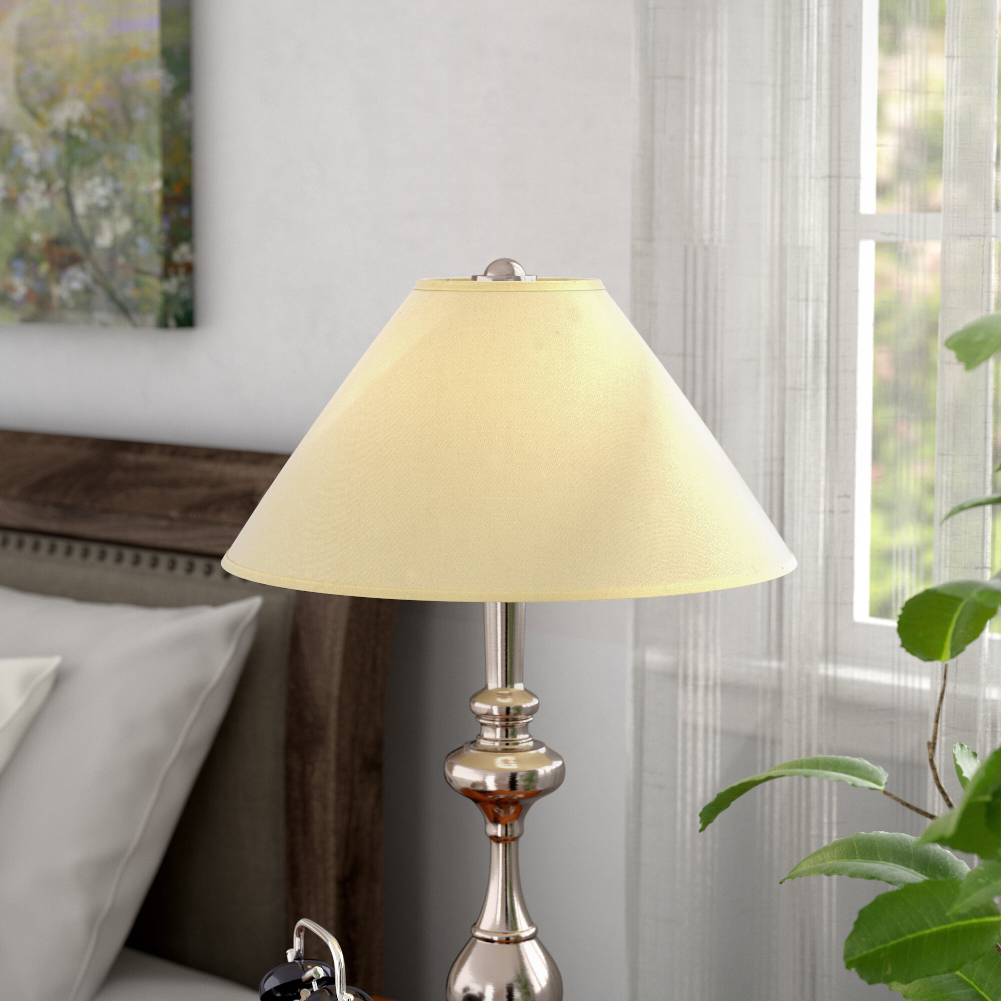 Red barrel studio 13 linen empire lamp shade reviews wayfair