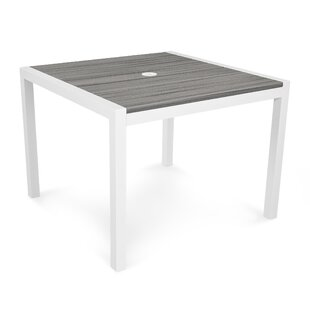 White Parsons Table | Wayfair
