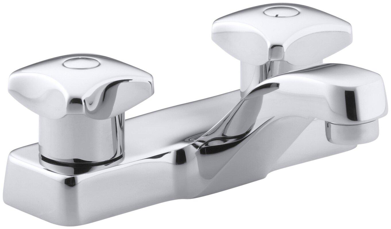 Kohler Triton Centerset Commercial Bathroom Sink Faucet