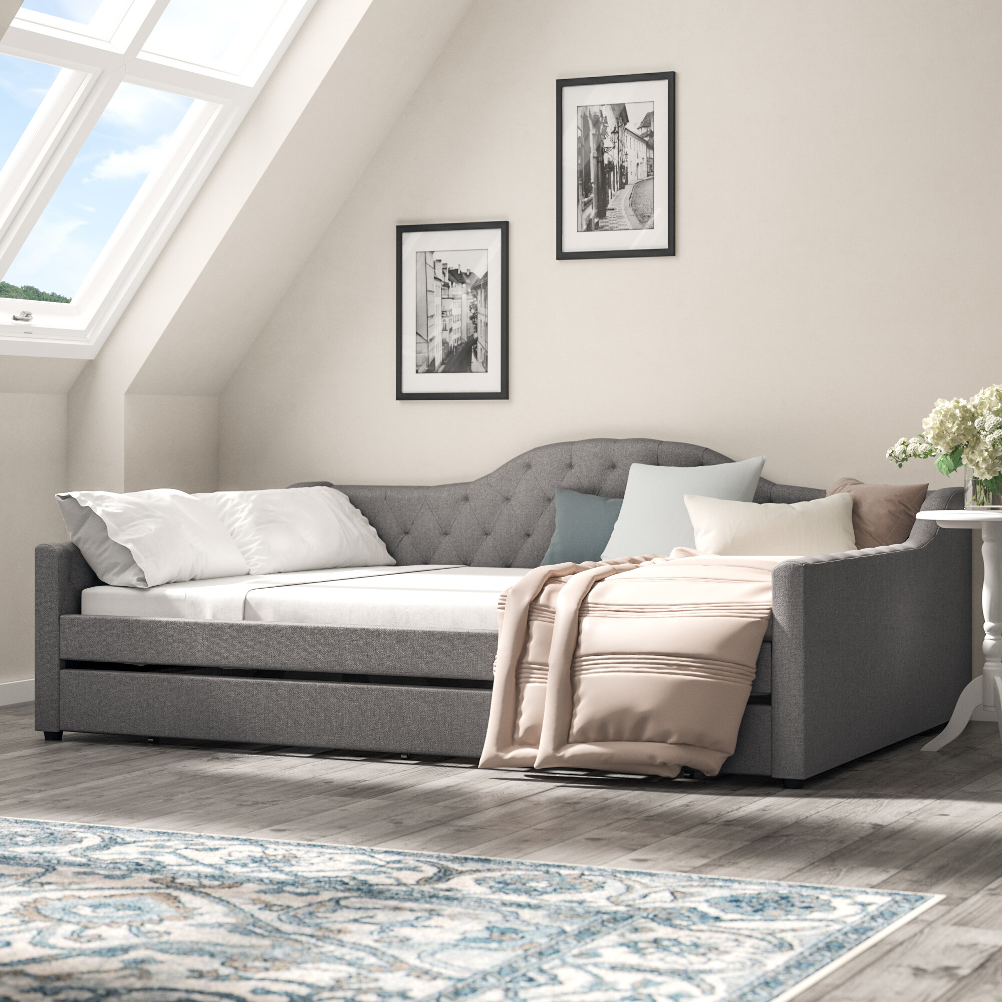 Zanowitz Daybed With Trundle Reviews Birch Lane