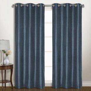 Slate Blue Curtains Wayfair