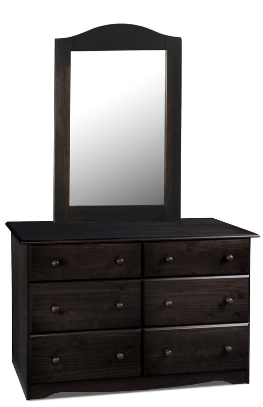 Drawer Dresser With Mirror