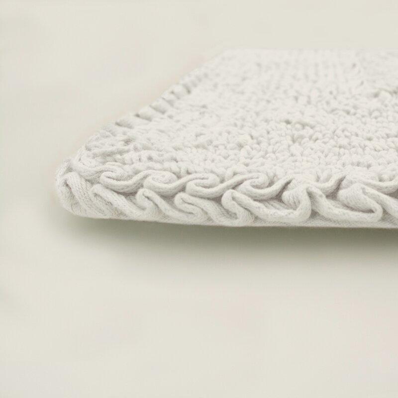 Laura Ashley Home Ruffle Cotton Bath Rug Amp Reviews Birch