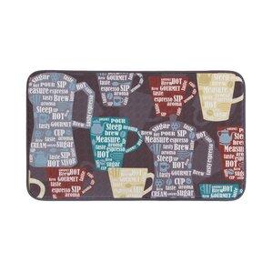 fun coffee antifatigue kitchen mat - Anti Fatigue Kitchen Mats
