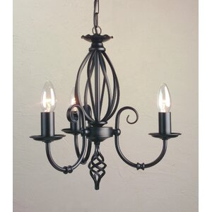 Artisan 3 Light Candle Chandelier
