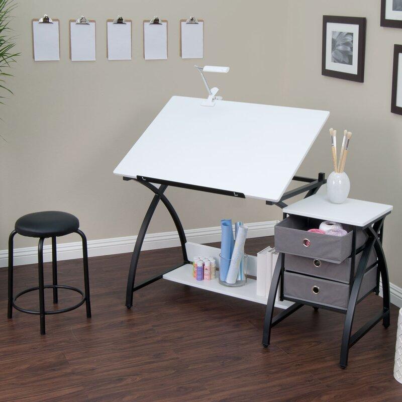 Studio Designs Center Comet Drafting Table Amp Reviews Wayfair