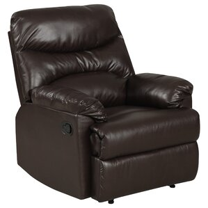 Rossville Chaise Manual Wall Hugger Recliner  sc 1 st  Wayfair : leather chairs recliner - islam-shia.org