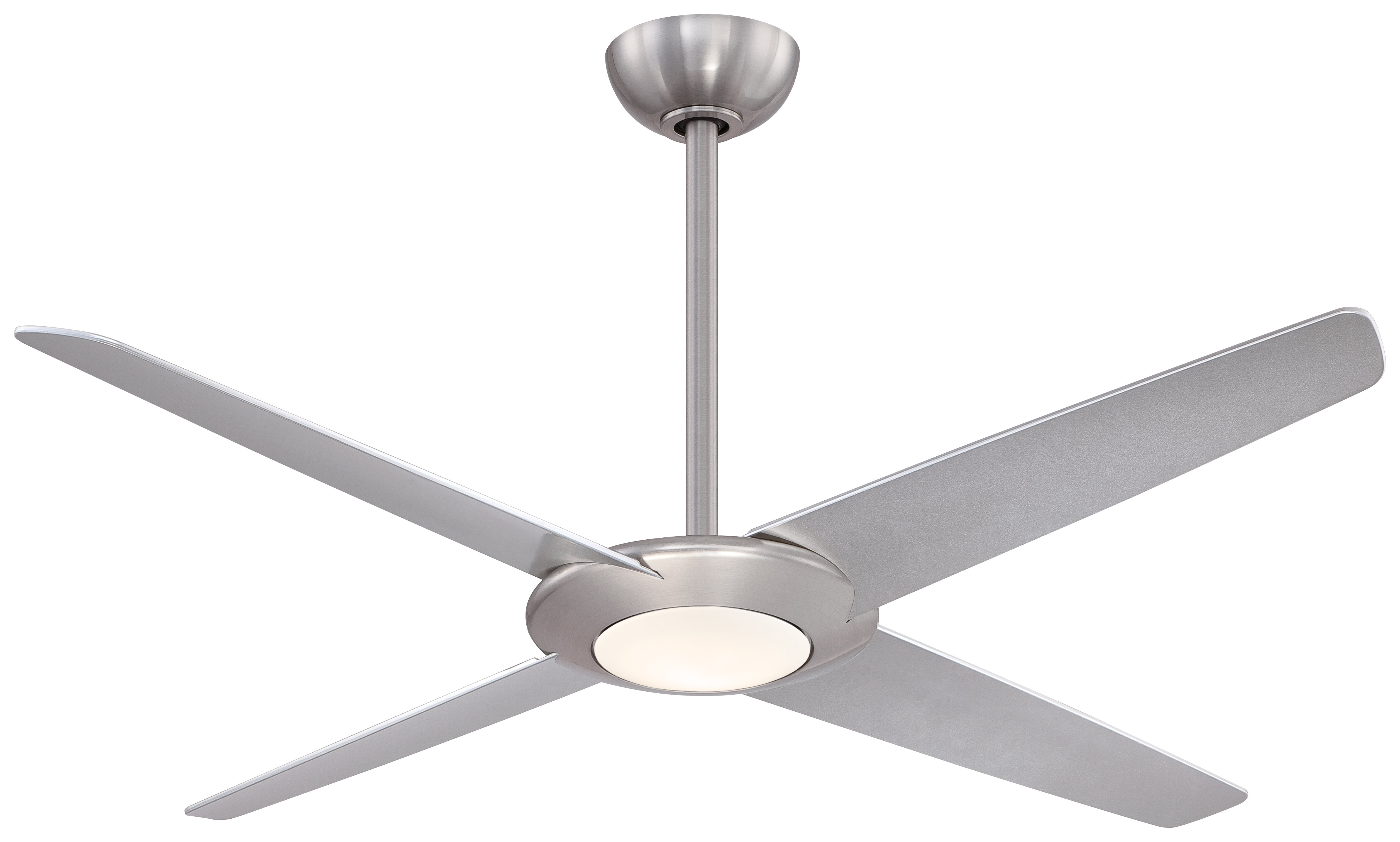 "Minka Aire 62"" Pancake LED 4 Blade Ceiling Fan with Remote"