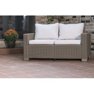 Stallcup Modern Loveseat With Cushions