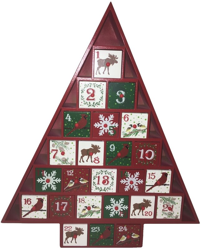 Calendar Woodlands : The holiday aisle rustic woodlands advent calendar