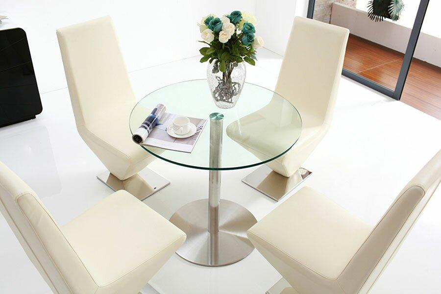 orren ellis essgruppe bertrix mit 4 st hlen bewertungen. Black Bedroom Furniture Sets. Home Design Ideas