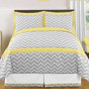 Zig Zag 3 Piece Comforter Set