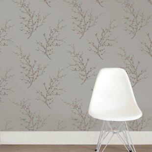 Tempaper E 359 L X 20 W Foiled Self Adhesive Wallpaper Roll