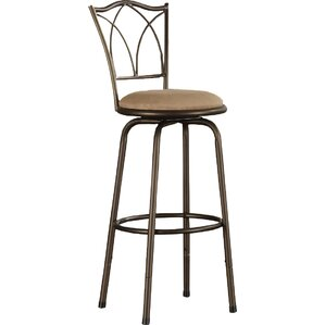 frankfort swivel bar stool set of 3