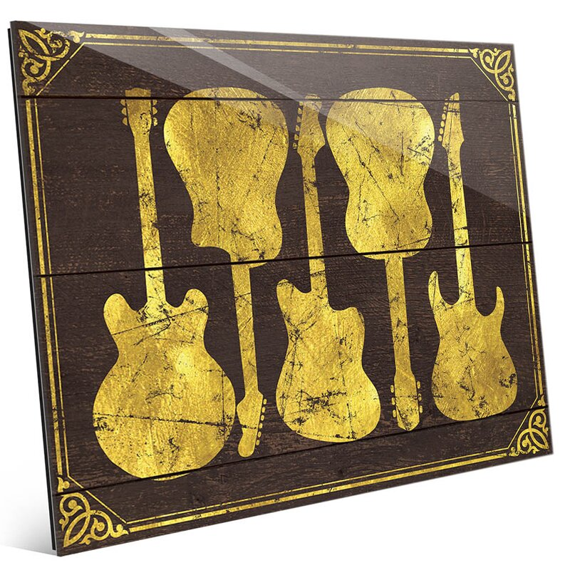 Comfortable Metal Guitar Wall Art Images - Wall Art Design ...