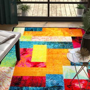 Bright Colorful Area Rugs | Wayfair
