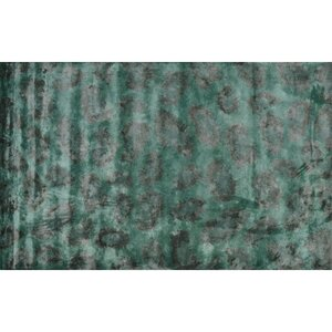 Leith Hand-Tufted Green Area Rug