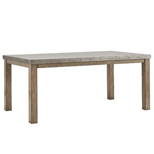 Modern Contemporary Stone Top Dining Table AllModern - Wood and stone dining table