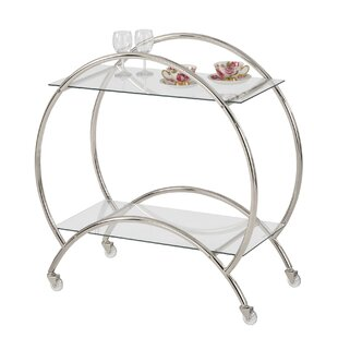 Baird Rolling Bar Cart