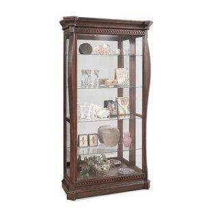 Welke Lighted Curio Cabinet