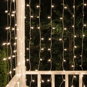 mini curtain string light - Netted Christmas Lights