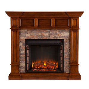 Prussia Corner Convertible Electric Fireplace by Darby Home Co