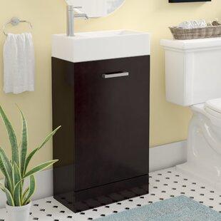 18 inch bathroom vanity. Lando Modern 19  Single Bathroom Vanity Set 18 Inch Vanities AllModern