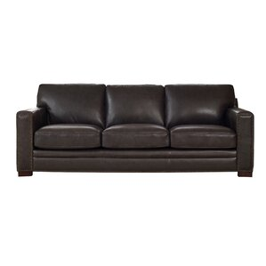 Neil Leather Sofa by Trent..