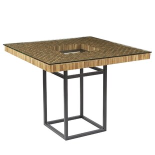 Modern square dining kitchen tables allmodern maclin dining table watchthetrailerfo