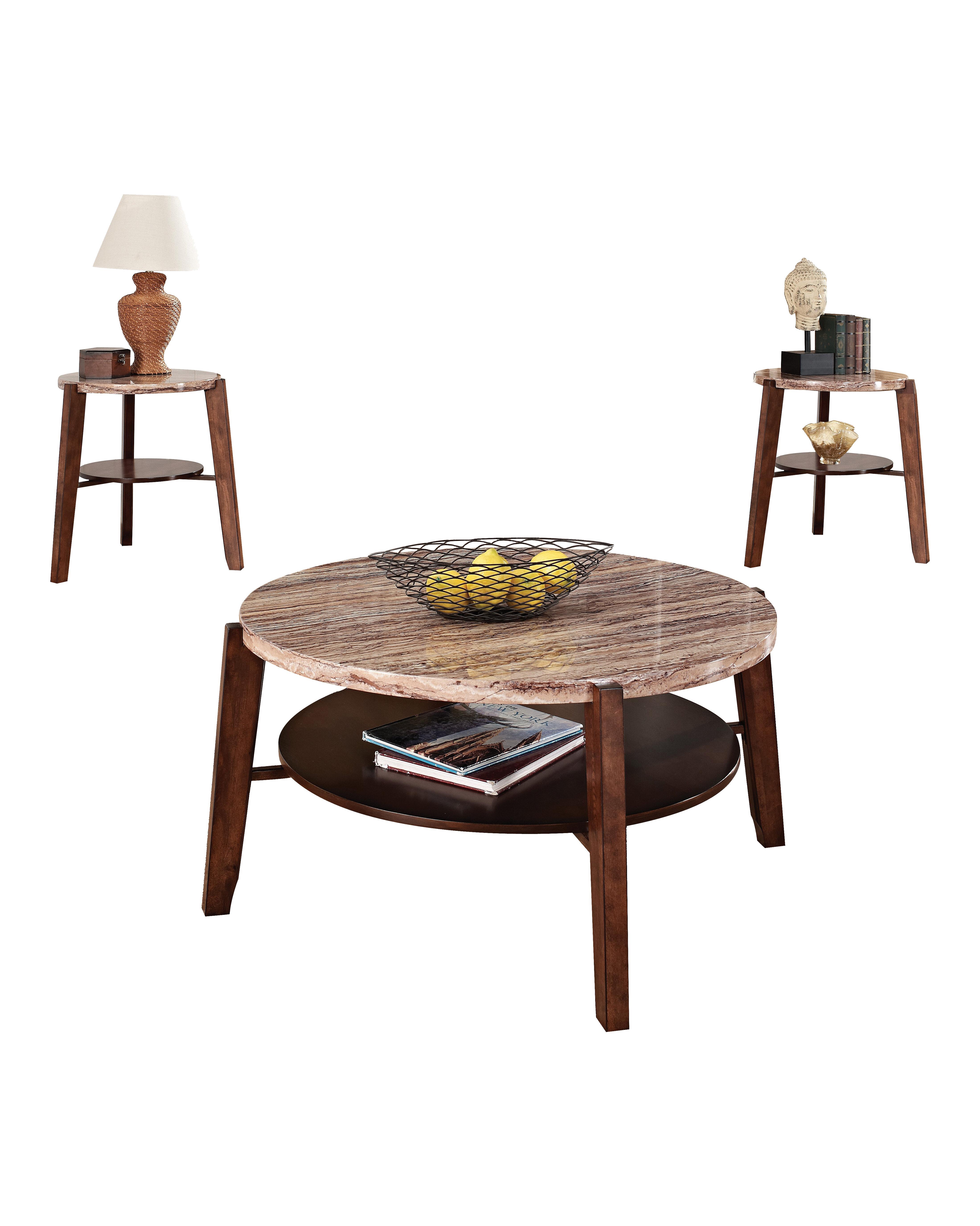 ACME Furniture Nadav 3 Piece Coffee Table Set & Reviews