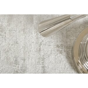 Janet Hand-Woven Gray Area Rug