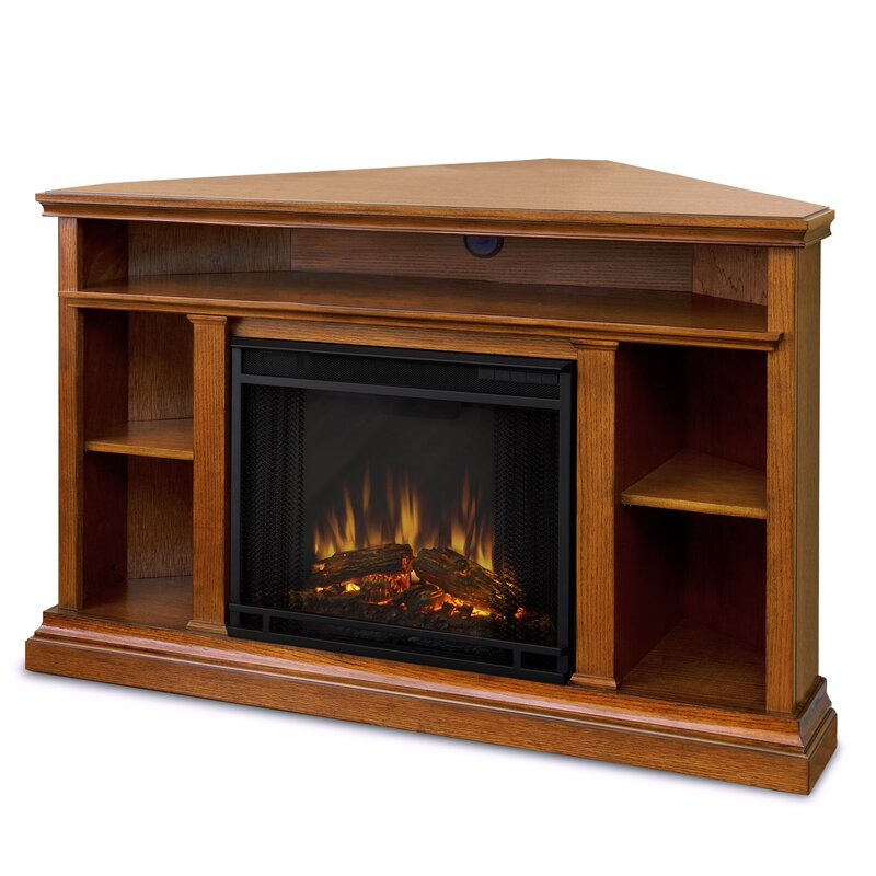 Awe Inspiring Churchill Tv Stand For Tvs Up To 50 With Fireplace Interior Design Ideas Philsoteloinfo