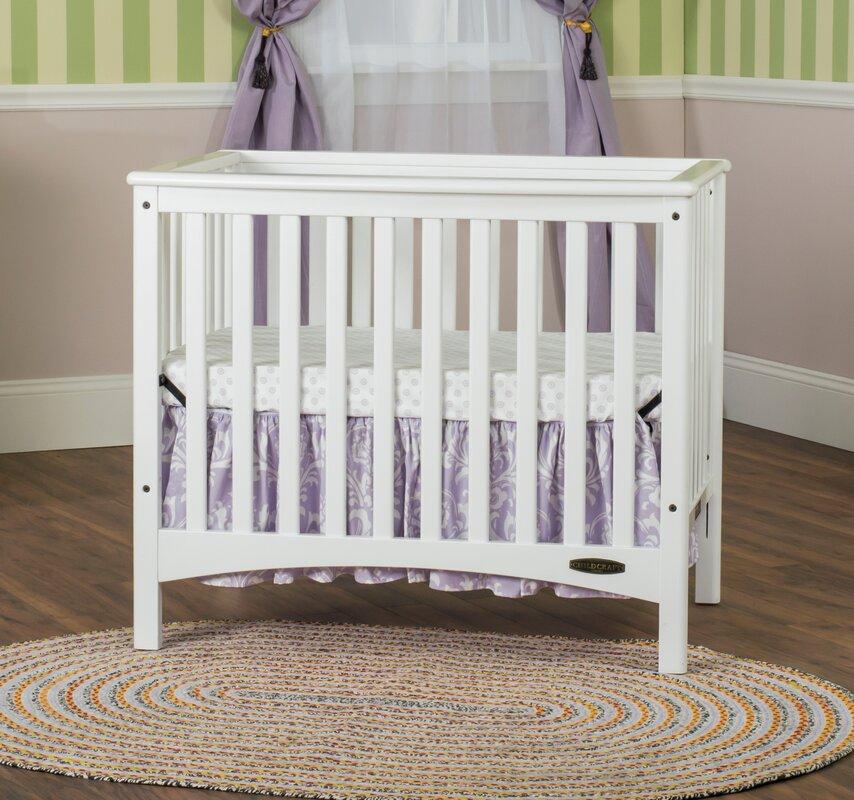 Child Craft London Euro 2 In 1 Mini Convertible Crib With