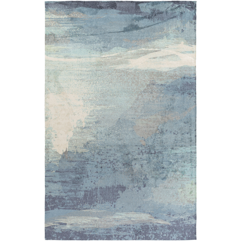 Greenlee Blue/Gray Area Rug & Reviews | Joss & Main