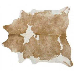 Handmade Beige White Area Rug