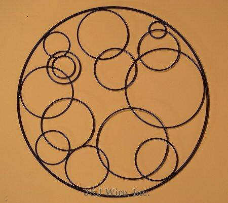 Circular Wall Decor j & j wire circular wall decor & reviews | wayfair