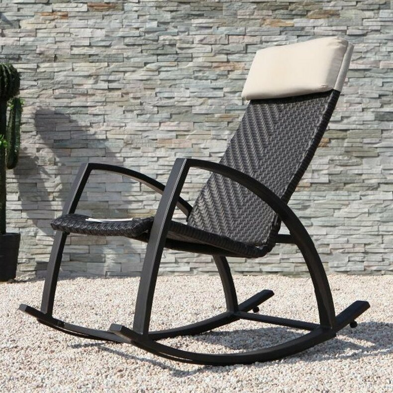 Erlandson Rattan Rocking Chair