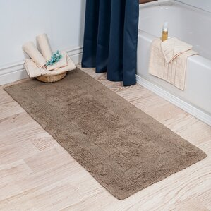 Machine Wash Bath Rugs Mats Youll Love Wayfair - Sage bath rug for bathroom decorating ideas