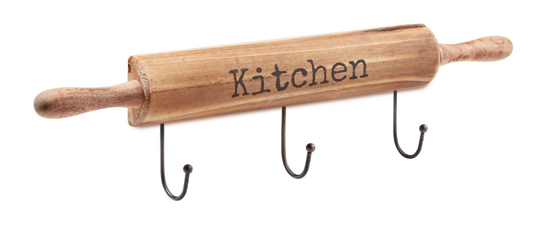 Kitchen Wall Mounted Pot Rack For Hotpads And Utensils
