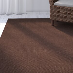 Campbellton Fiber Chocolate/Dark Brown Area Rug