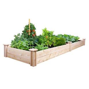 Extra large rectangular planters youll love cedar raised garden workwithnaturefo