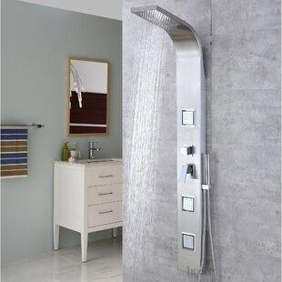 Diverter Dual Shower Head Shower Panel