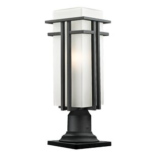 Outdoor column mount light wayfair weitzel outdoor 1 light pier mount light aloadofball Image collections