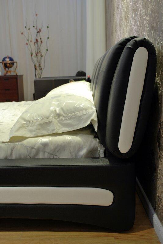 Greatime Upholstered Platform Bed & Reviews