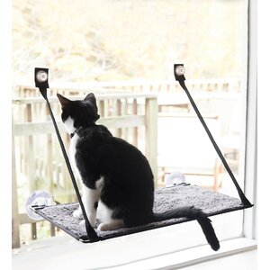 Window Sill Cat Bed with EZ Window Mountu2122