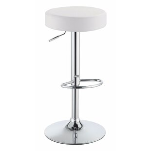 Wroblewski Backless Adjustable Height Swivel Bar Stool
